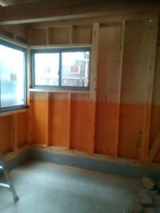 先日集合写真とった一階の待合室