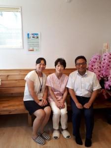 医業総研小畑さんと東日本メディコム遠藤さんには休日なのに力を借りました。