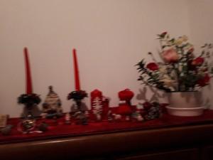 可愛いクリスマスの飾り付け